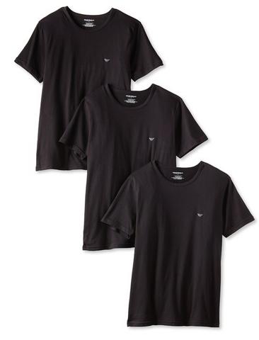 Emporio Armani Crew Neck 男款圆领T恤 3件装