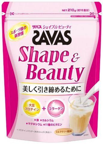 meiji 明治 SAVAS Shape&Beauty 低分子胶原运动蛋白粉 210g 15天量