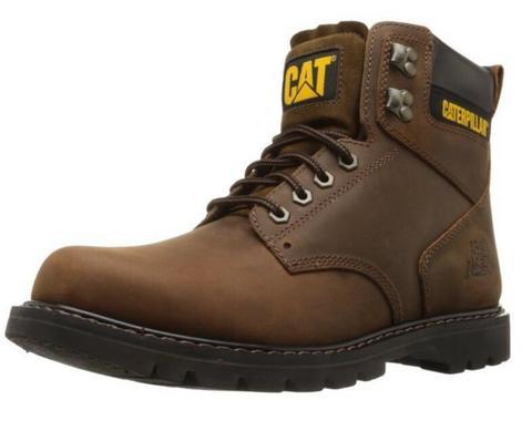 CAT 卡特彼勒 2nd Shift Plain 男士工装短靴
