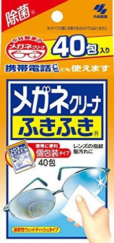 KOBAYASHI 小林制藥 眼鏡清潔布 40枚