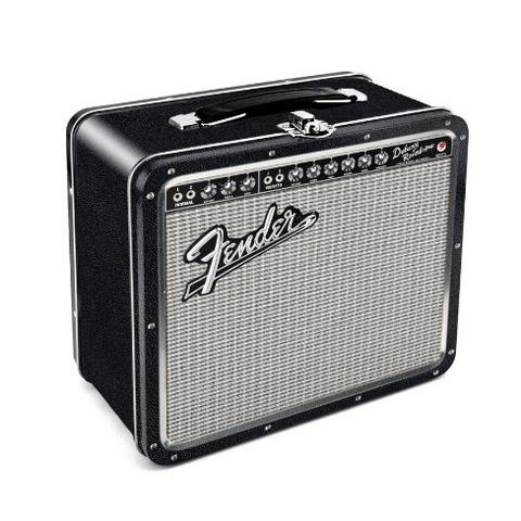 Aquarius 经典音响手提箱午餐箱 Fender Amp Tin款