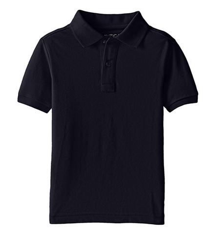 NAUTICA 诺帝卡 Pique Polo 男童短袖T恤