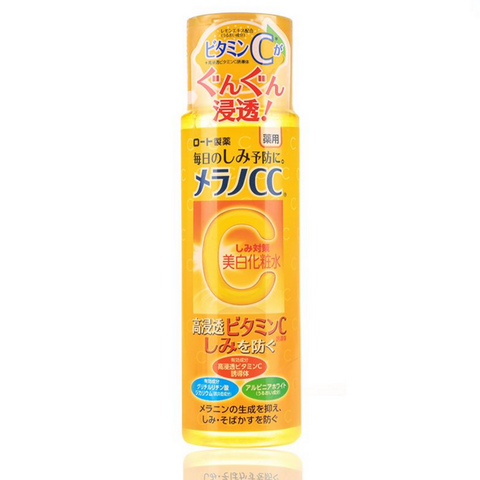 ROHTO 乐敦 Melano CC 维生素C 美白化妆水 170ml