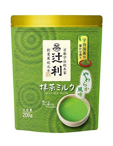 辻利久 牛奶抹茶粉 200g