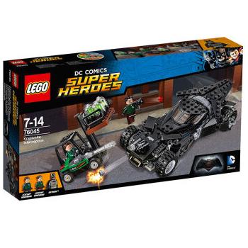 LEGO 乐高 超级英雄系列 76045 蝙蝠侠对超人 氪星石抢夺战