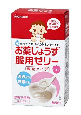wakodo 和光堂 婴儿喂药果冻(3g×12)×2箱