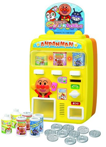 joypalette 面包超人饮料自动贩卖机