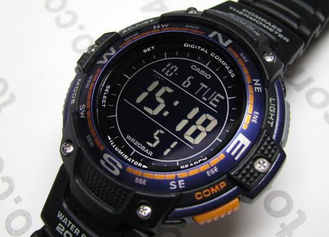 CASIO 卡西欧 SGW-100-2BCF 男款户外腕表