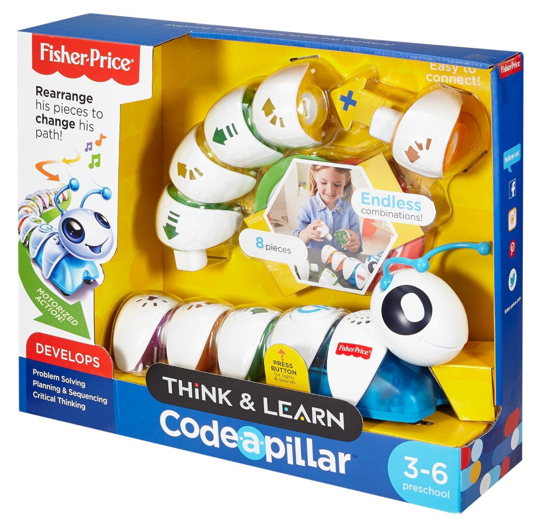 Fisher-Price 费雪 编程毛毛虫玩具