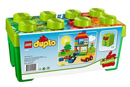 LEGO 乐高 10572 得宝创意拼砌系列 多合一趣味桶