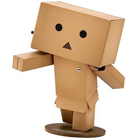 KAIYODO 海洋堂 阿楞 纸箱人玩具公仔 mini款