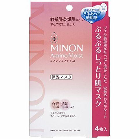 MINON 氨基酸保湿面膜 4片