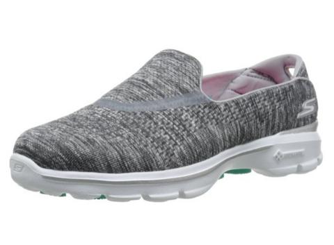 SKECHERS 斯凯奇 Go Walk 3 Slip-On 女款休闲运动鞋