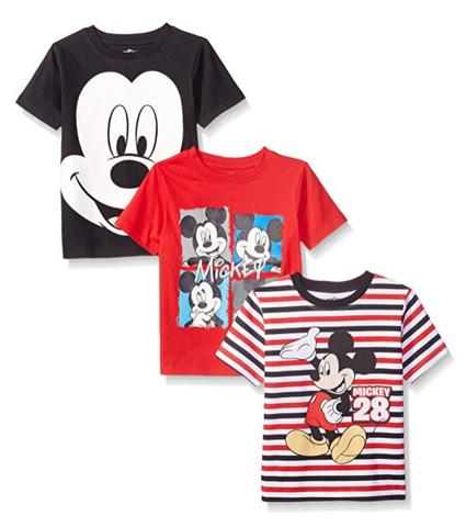 Disney 迪士尼 3 Pack Mickey 男童T恤 3件装