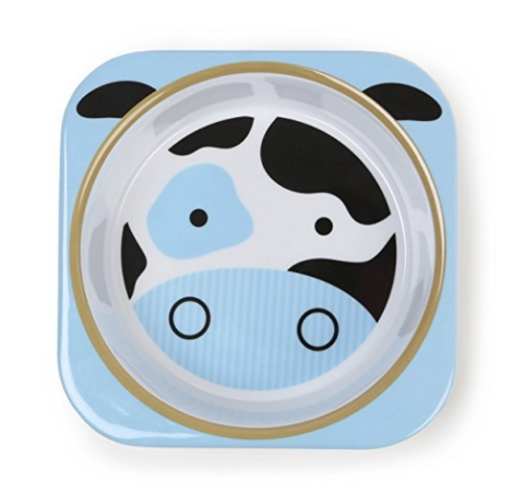 skip hop 动物园系列 儿童餐盘