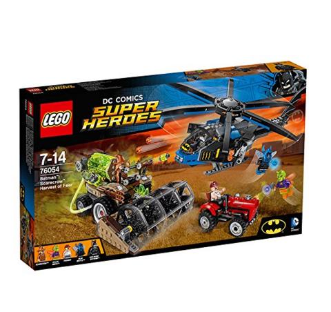 LEGO 乐高 Super Heroes 系列 76054 稻草人恐怖集中营