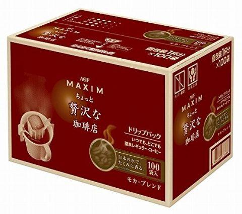 AGF Maxim 摩卡挂耳咖啡 100袋
