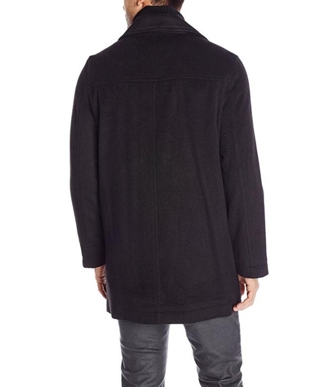 NAUTICA 诺帝卡 Wool-Blend Topcoat 男士羊毛混纺大衣