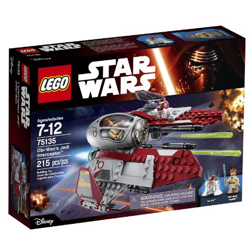 LEGO 乐高 Star Wars 星球大战系列 75135 欧比旺绝地拦截机