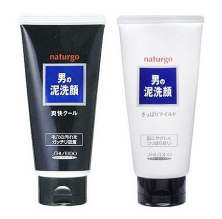 SHISEIDO 資生堂 naturgo 男士海泥潔面乳