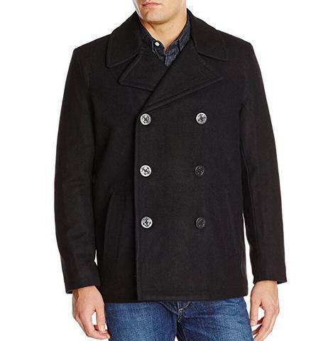 Levi's 李维斯 Wool Classic Double-Breasted 男士双排扣大衣