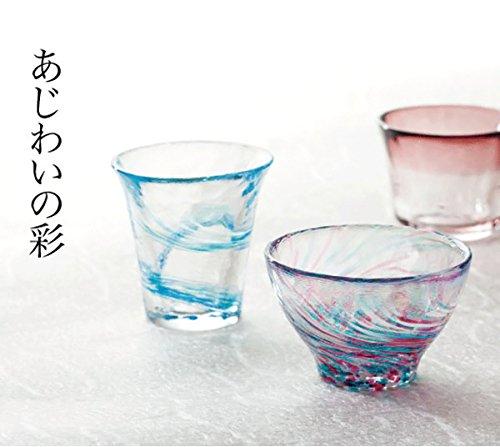 石塚硝子 FS-71542 津軽手工玻璃 对杯(樱流、波音)