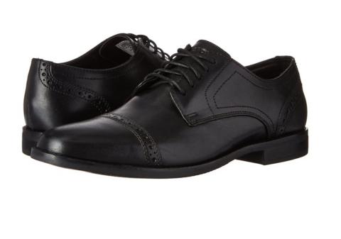 ROCKPORT 乐步 Derby Room 男士雕花正装皮鞋