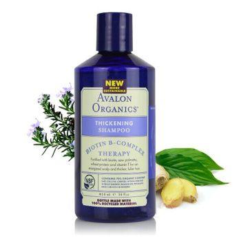AVALON ORGANICS 维生素B族 防脱洗发水