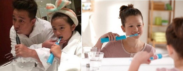 PHILIPS 飞利浦 HX6321/02 儿童蓝牙电动牙刷