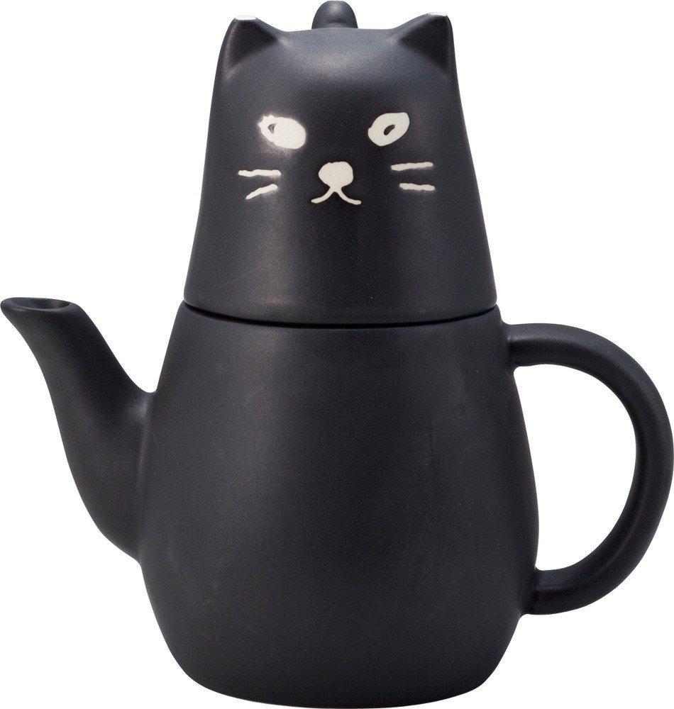 sunart 动物系列 san2121 黑猫茶壶 套装