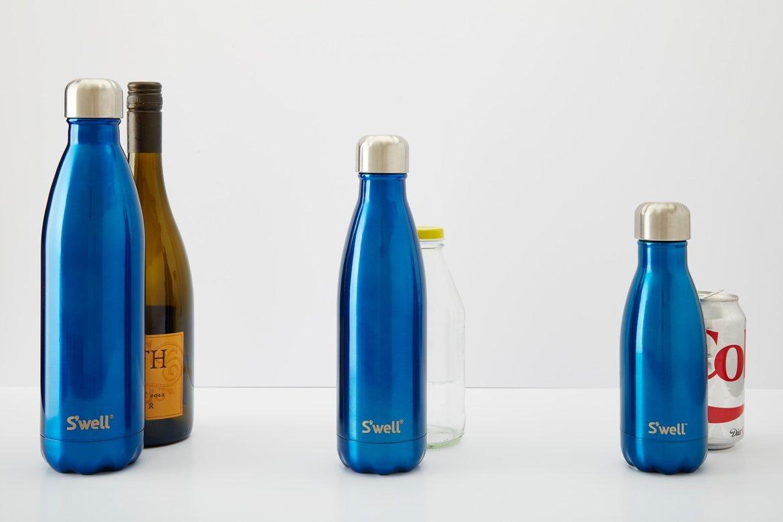 Swell Wood木纹系列 不锈钢保温瓶 17盎司