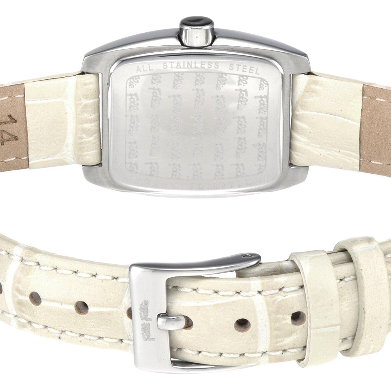 Folli Follie S922ZI SLV 镶钻女士皮带时装腕表