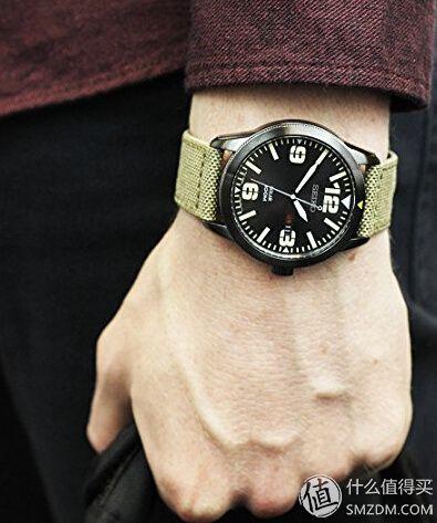 SEIKO 精工 Solar SNE329 男款太阳能腕表