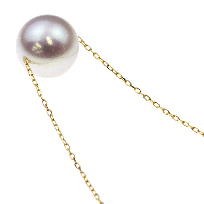 nadi Akoya珍珠 K18黄金项链(8.0-8.5mm)