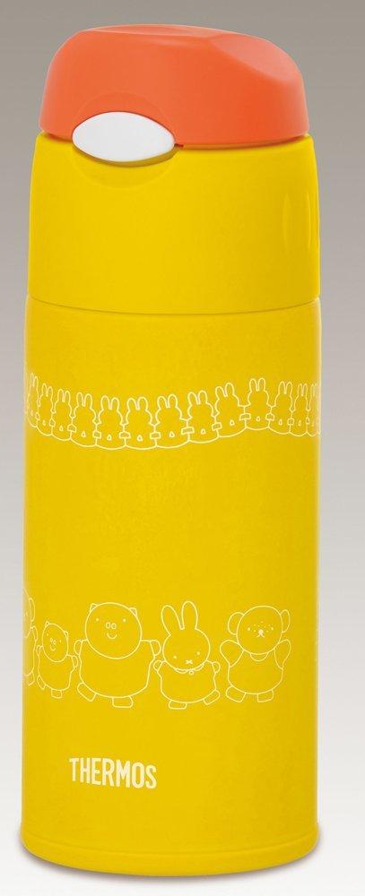 THERMOS 膳魔师 真空隔热吸管保冷杯 FHL-400FB 黄色 400ml(4款可选)