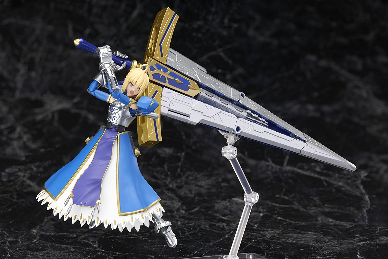 BANDAI 万代 Fate/Grand Order Saber 誓约胜利之剑 ABS&PVC材质 涂装完成版手办 14cm
