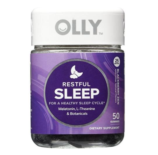 OLLY Restful Sleep 安神助睡维生素软糖 50粒