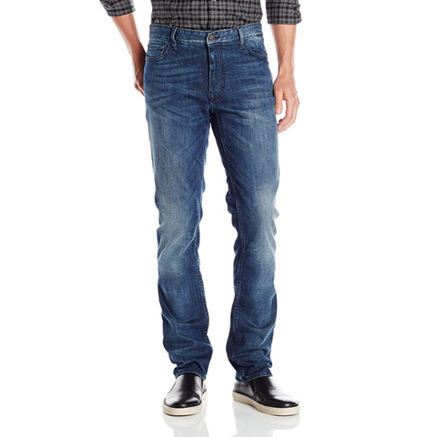 Calvin Klein Jeans Slim-Straight 男士修身牛仔裤