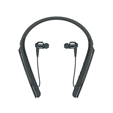SONY 索尼 WI-1000X 颈挂蓝牙入耳式耳机 黑色