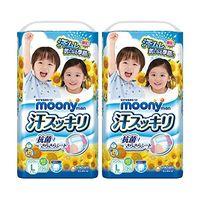 moony 尤妮佳 婴儿裤型纸尿裤 (12~17kg) big码 36枚 *2包