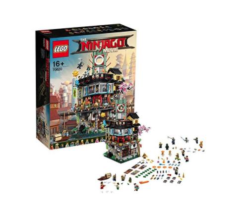 LEGO 乐高 幻影忍者系列 70620 幻影忍者城市
