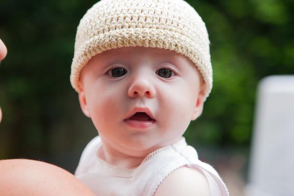 Boobie Beanie 手工编织婴儿帽