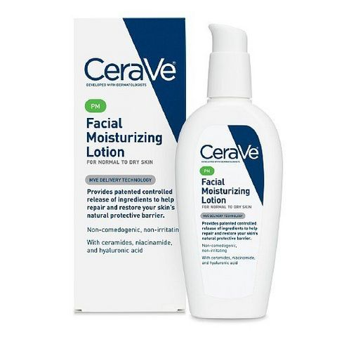 CeraVe Moisturizing Facial 夜间美白保湿修复乳液 89ml