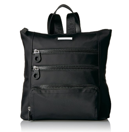 Calvin Klein 卡尔文·克莱 Athliesure Nylon Square 女款休闲双肩背包