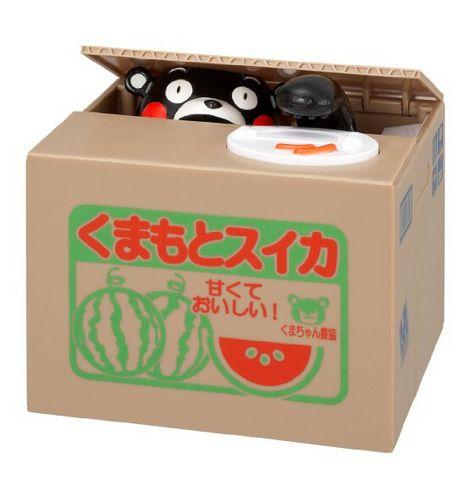 Kumamon 熊本熊 电动储钱罐