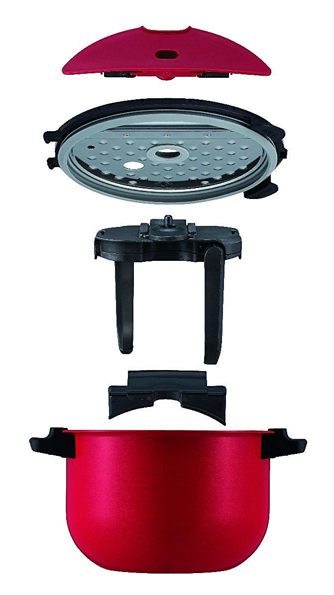 SHARP 夏普 KN-HT99A-R 無水電燉鍋 1.6L