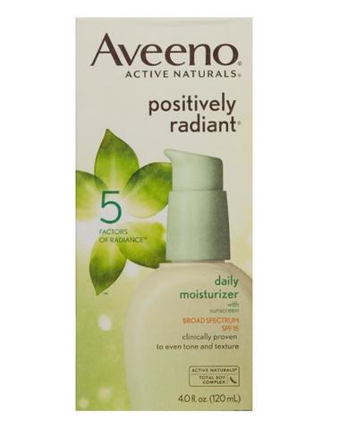 Aveeno 艾维诺 Active Naturals Positively Radiant 大豆亮肤保湿日霜 SPF30