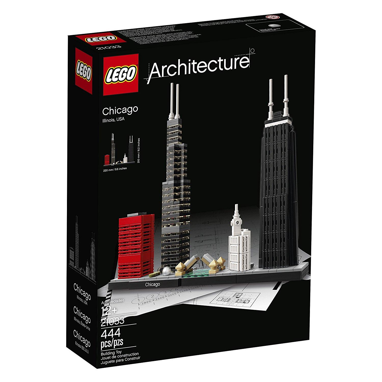 乐高 建筑系列 芝加哥 21033