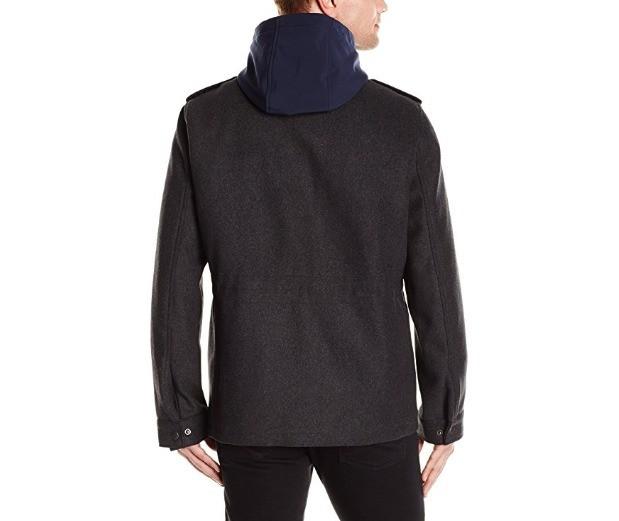 TOMMY HILFIGER 汤米·希尔费格 Wool Blend 男士保暖外套