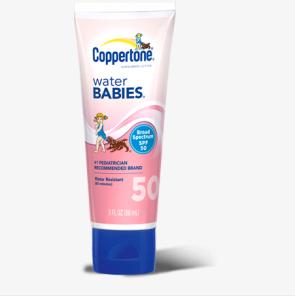 Coppertone 确美同 水宝宝 防晒霜 SPF50 88ml